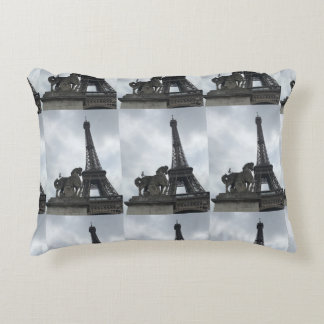 Almofada Decorativa Travesseiro do acento da silhueta da torre Eiffel