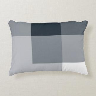 Almofada Decorativa Travesseiro do acento das máscaras da luz do azul