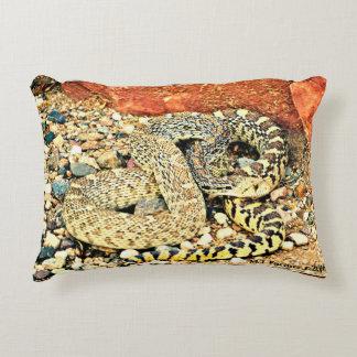 Almofada Decorativa Travesseiro do acento do cobra de Sonoran Bull