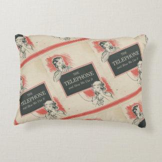 Almofada Decorativa Travesseiro do acento do livro de instrução do