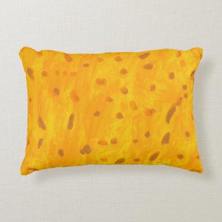 Almofada Decorativa Travesseiro do acento do peixe dourado
