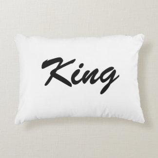 """Almofada Decorativa Travesseiro do acento do """"rei""""!"""