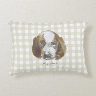 Almofada Decorativa Travesseiro do amante do cão (a)