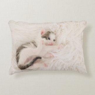 Almofada Decorativa Travesseiro do gato do bebê