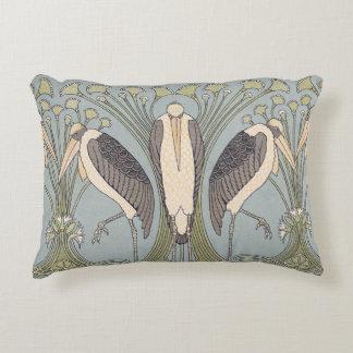 Almofada Decorativa Travesseiro do guindaste de Nouveau da arte