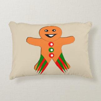 Almofada Decorativa Travesseiro do homem de pão-de-espécie da festa de