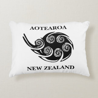 Almofada Decorativa travesseiro do koru do aotearoa_new_zealand