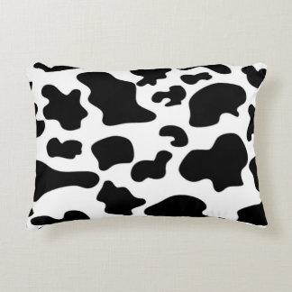 Almofada Decorativa Travesseiro do teste padrão da vaca