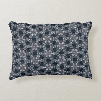 Almofada Decorativa Travesseiro do teste padrão de Geo do hexágono