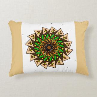 Almofada Decorativa Travesseiro geométrico verde do design dos