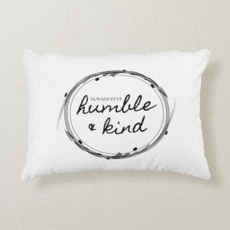 Almofada Decorativa Travesseiro humilde & amável do acento