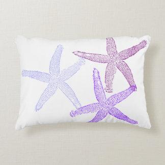 Almofada Decorativa Travesseiro roxo da estrela do mar