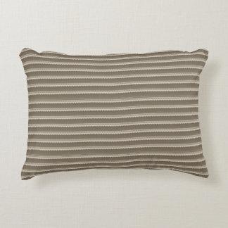 Almofada Decorativa Travesseiro rústico asteca tribal do teste padrão