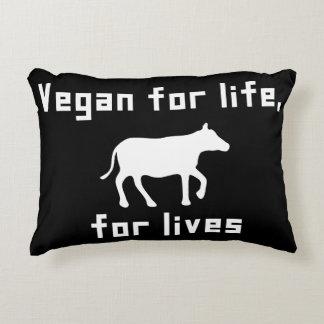 Almofada Decorativa Vegan para a vida