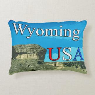 """Almofada Decorativa Wyoming EUA classifica um travesseiro 16"""" do"""