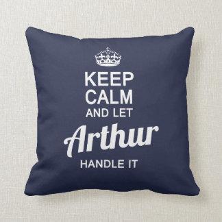Almofada Deixe Arthur segurá-lo!
