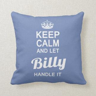 Almofada Deixe Billy segurá-lo!