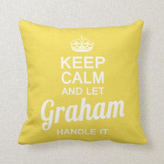 Almofada Deixe Graham segurá-lo