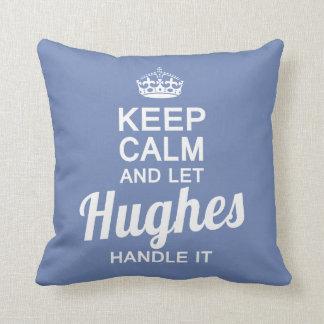 Almofada Deixe Hughes segurá-lo