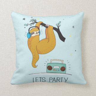 Almofada Deixe-nos Party o travesseiro decorativo bonito do