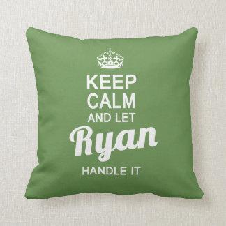 Almofada Deixe Ryan segurá-lo!