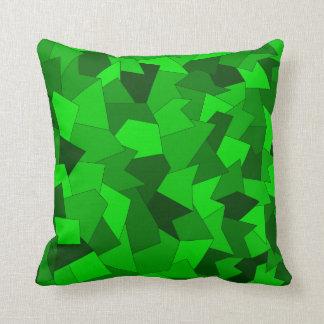 Almofada Dekokissen com modelo abstracto em verde