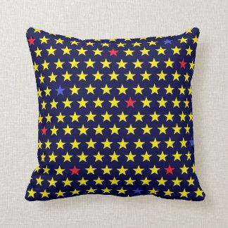 Almofada Dekokissen de estrelas em azul de noitada