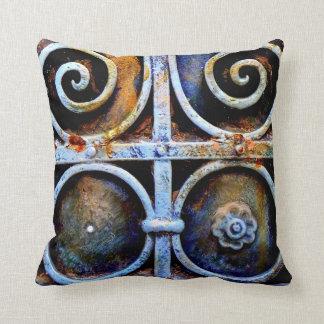 Almofada Descanso oxidado do ferro