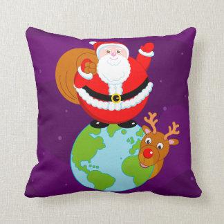 Almofada Desenhos animados do divertimento de Papai Noel
