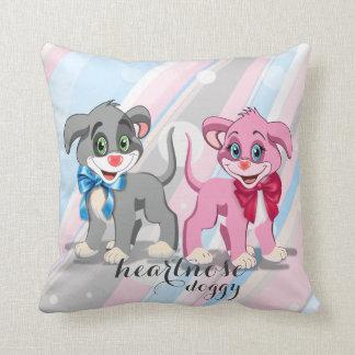 Almofada Desenhos animados dos filhotes de cachorro do