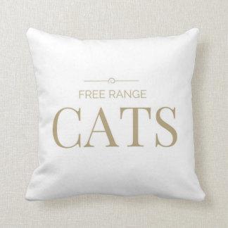 Almofada Design ar livre dos gatos