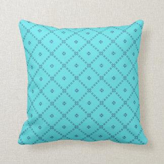 Almofada Design bonito gráfico azul