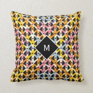 Almofada Design colorido moderno do weave aberto do