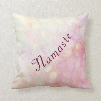 Almofada Design cor-de-rosa bonito de Namaste