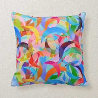 Almofada Design crescente Beachy no travesseiro decorativo