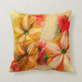 Almofada Design da beleza da tapeçaria das flores