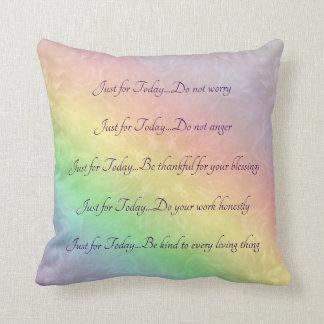 Almofada Design da mandala do arco-íris dos princípios de
