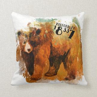 Almofada Design do urso preto de Milford