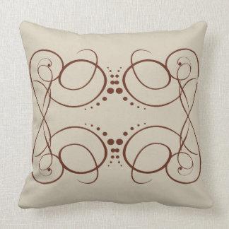 Almofada Design floral pelo travesseiro decorativo do