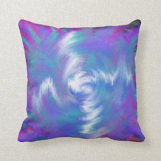 Almofada Design Indie da arte da estrela espiral