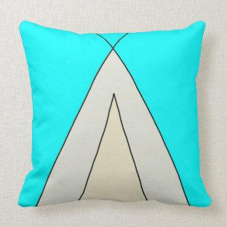 Almofada Design minimalista do verão do Teepee da barraca