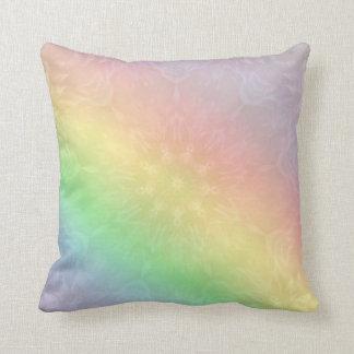 Almofada Design Pastel da mandala do arco-íris