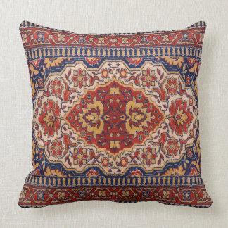 Almofada Design tribal geométrico colorido do tapete