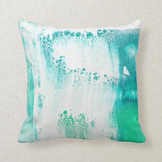 Almofada Detalhe abstrato verde