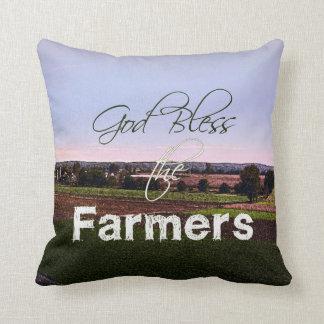 Almofada Deus abençoe o travesseiro dos fazendeiros
