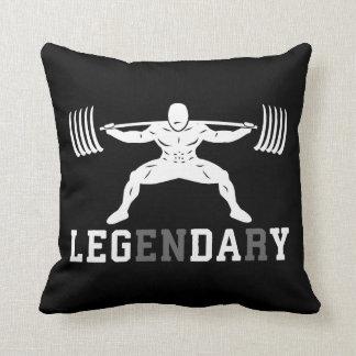 Almofada Dia do pé - legendário - ocupa - Gym inspirado
