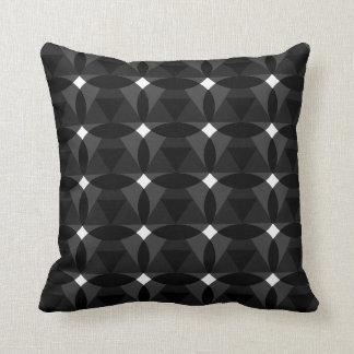 Almofada Diamante no travesseiro decorativo do branco do