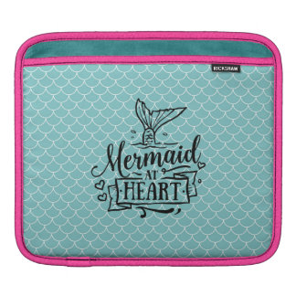 almofada do iPad - sereia no coração Bolsas De iPad
