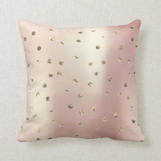 Almofada Do rosa cor-de-rosa mais foxier do ouro do ouro