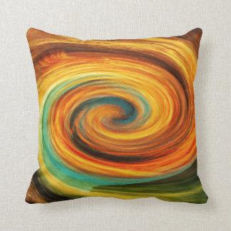 """Almofada Do """"travesseiro decorativo amarelo do Aqua verde"""